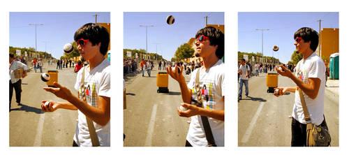 juggling away
