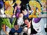 Saiyans VS Enemies Dragon Ball    Nola - TGA