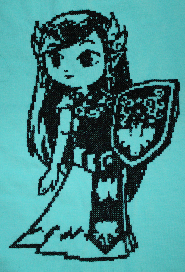 Zelda cross stitch by tihvutin