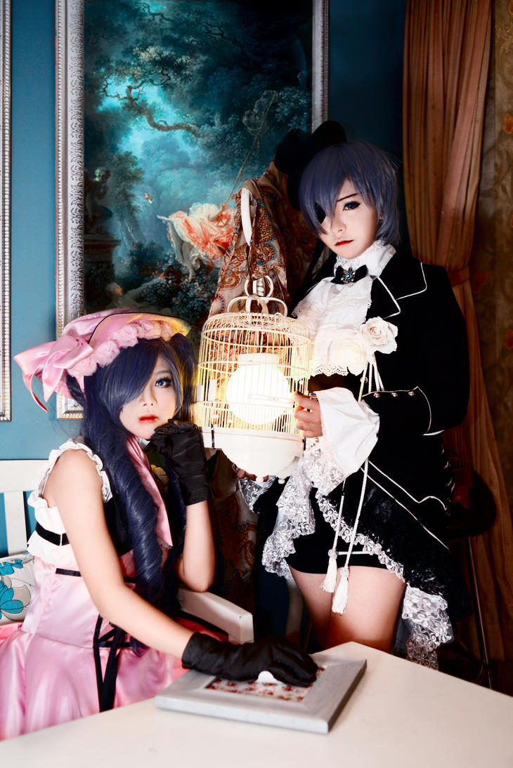 Ciel And Ciel Lady by kwonleader1808