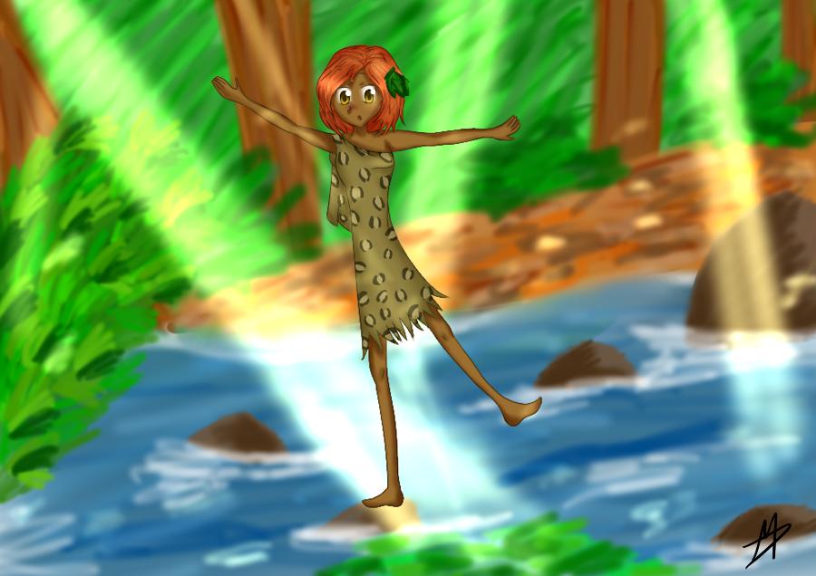 Alguno de mis dibujos~ Almost_falling_by_shi_kuro-d5k269r