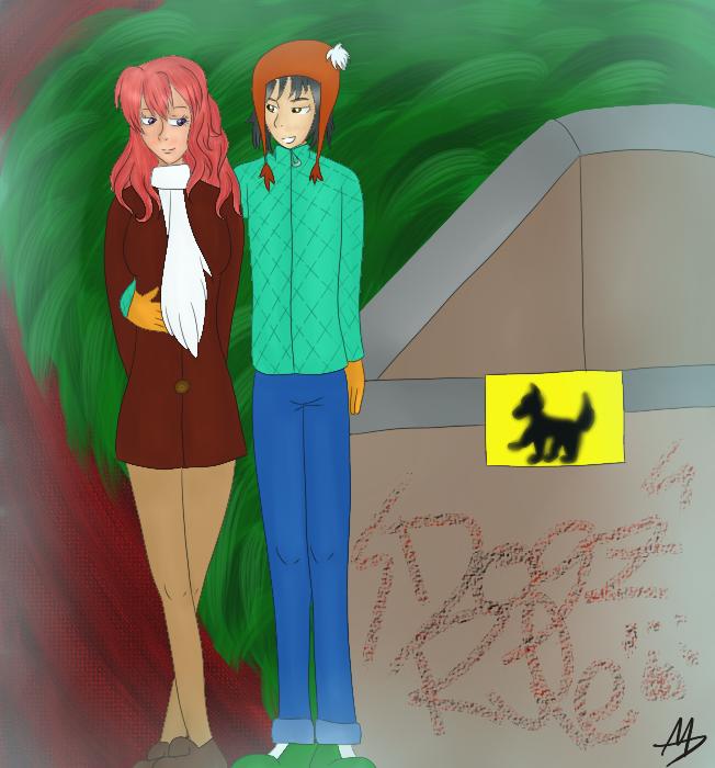 Alguno de mis dibujos~ Cold_night___haruka_moe_contest_by_shi_kuro-d5rvkn4