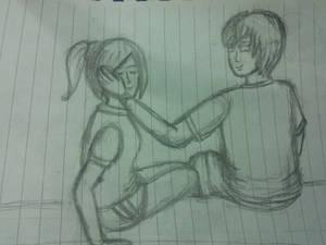 Incomplete CG: Hina and Jun