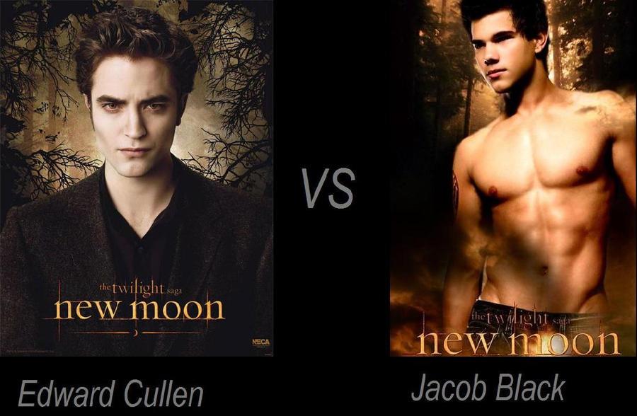 compare and contrast twilight edward and jacob What are similarities between the twilight movie and the book i know that there aren't as many similarities between the two than differences, but can anyone think of some update: besides the basic aspects (edward is a vampire, their names, etc).