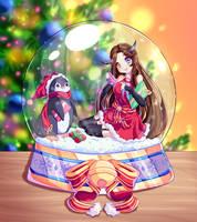 Secret Santa - Akuma Mizuki by Shimmer5O