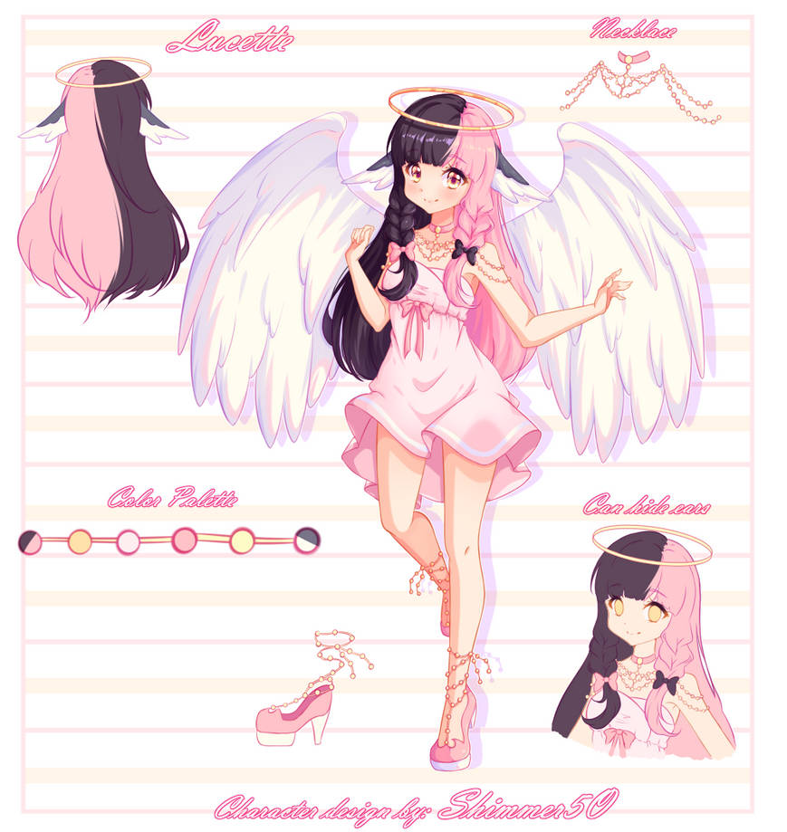 [AT] Character Design - Yashaihime by Shimmer5O