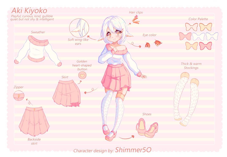 Character Design Patreon Reward - Xaluara by Shimmer5O
