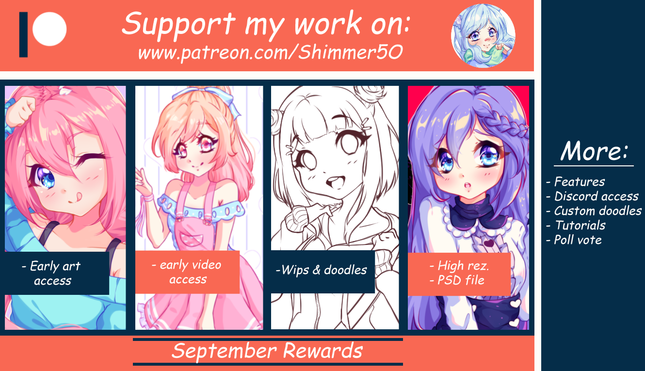 Patreon September pack by Shimmer5O