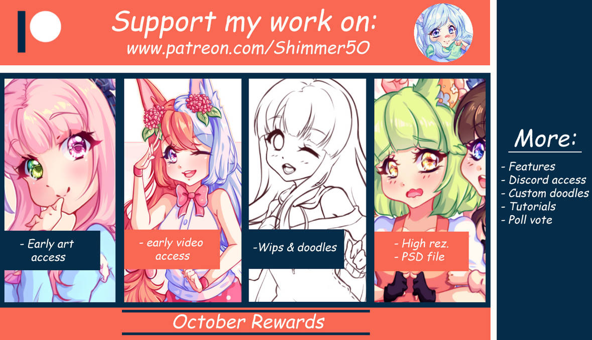 Patreon - October Pack by Shimmer5O