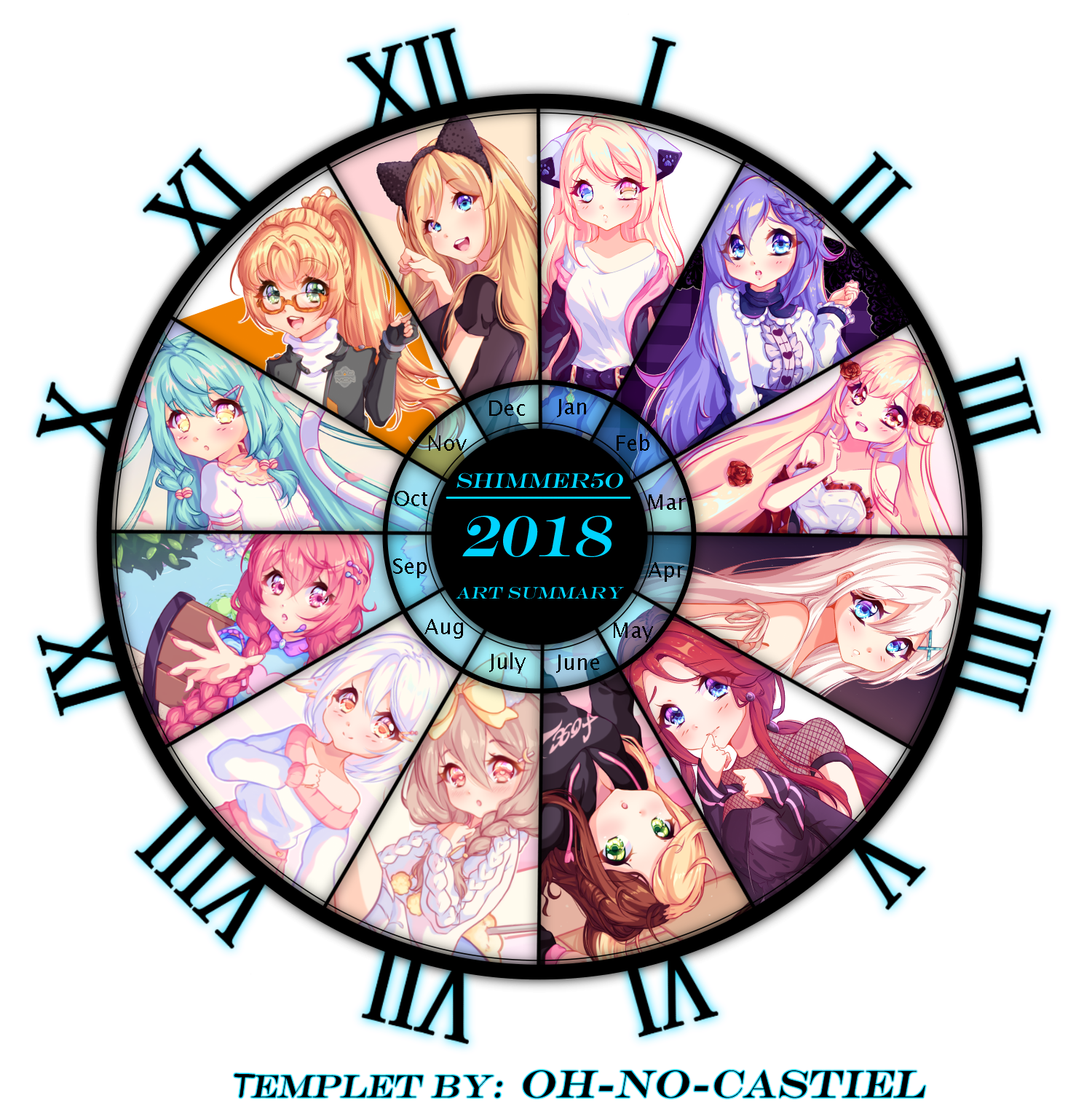 Art summery 2018 by Shimmer5O