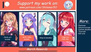 Patreon - March's reward pack