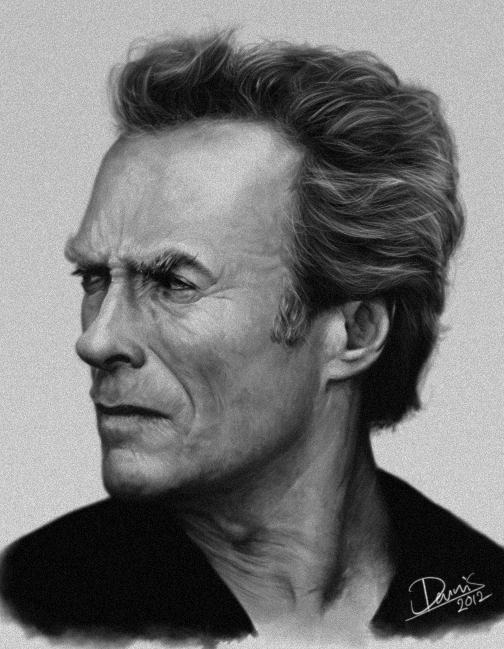 Clint Eastwood by Disse86