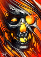 Tearing Skull by Disse86