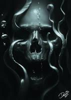 Underwater Skull by Disse86
