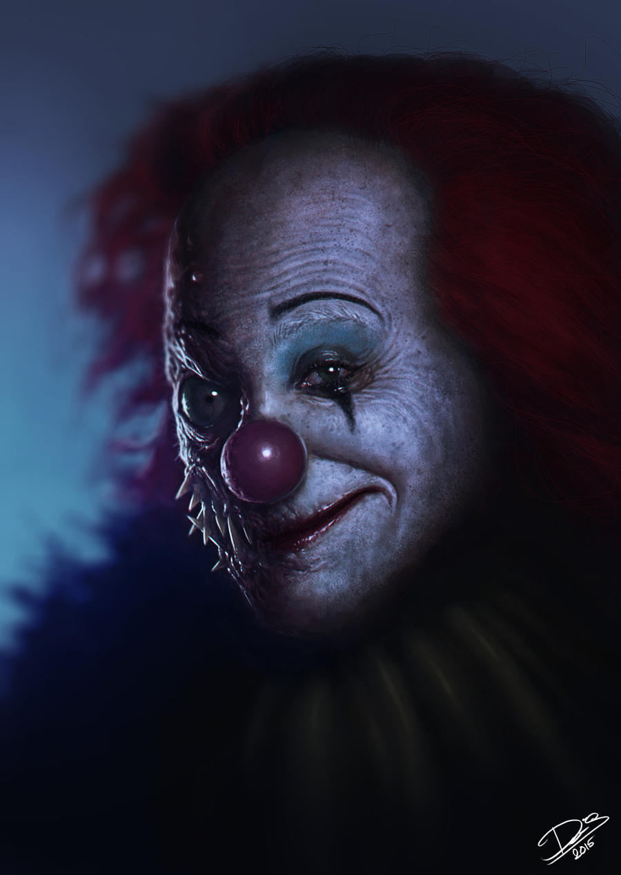 My version of Pennywise by Disse86