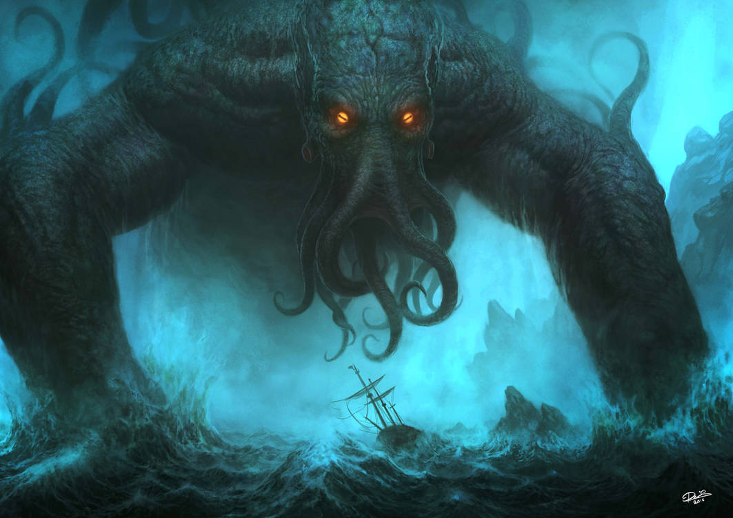 Cthulhu by Disse86