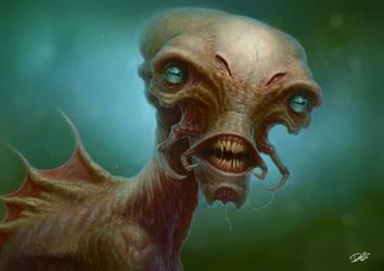 Alien Creature by Disse86