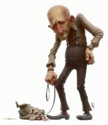 Senior Dog Owner by Disse86