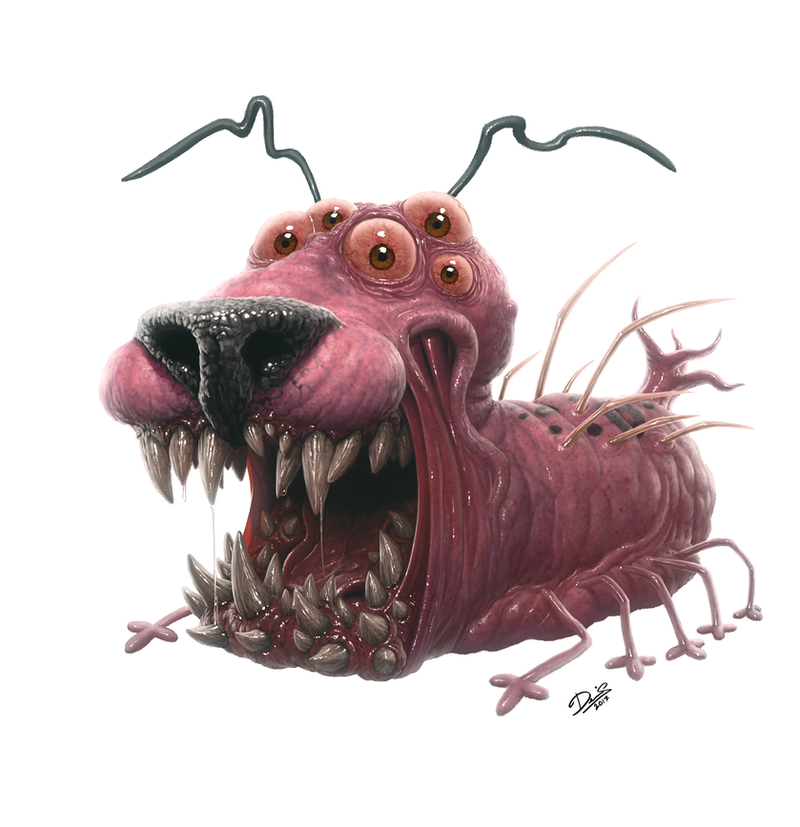 Courage The Cowardly Dog by Disse86