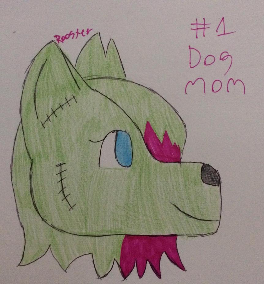 Number One Dog Mom by HammieHamlet