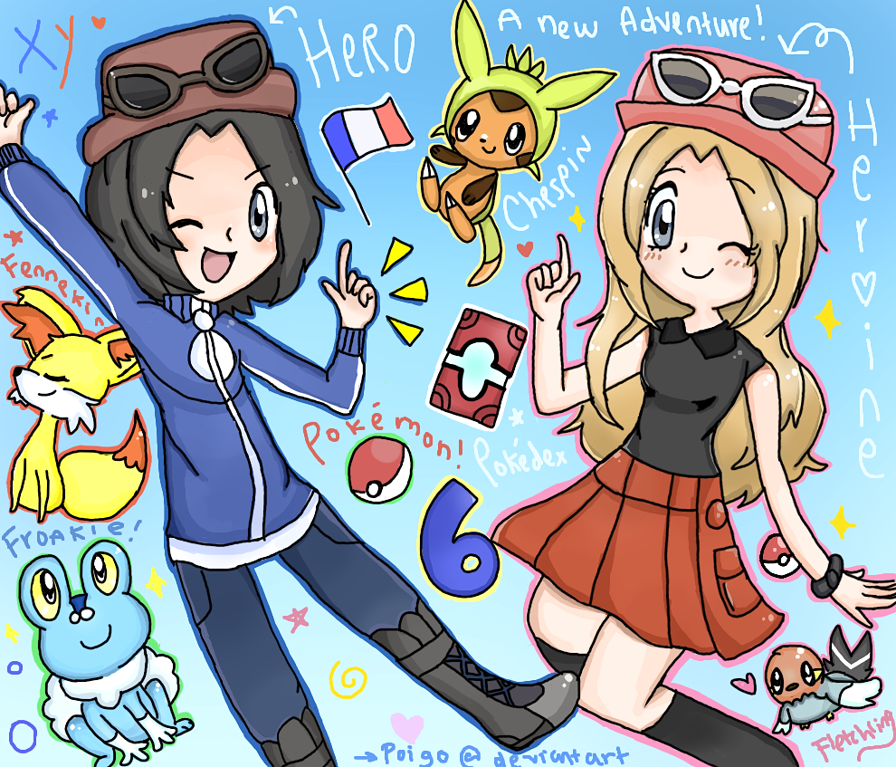 POKEMON X AND Y HYPE by poigo