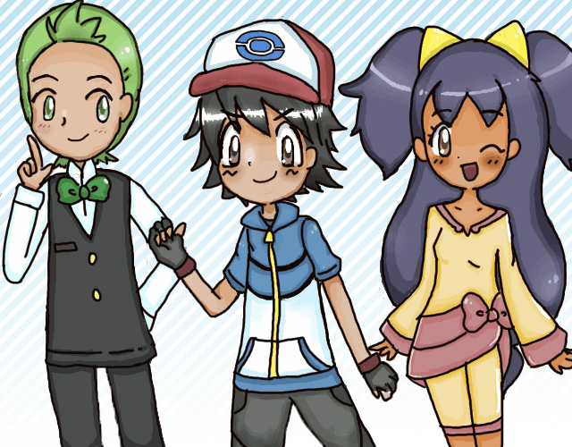 Pokemon Ash And Iris Images | Pokemon Images