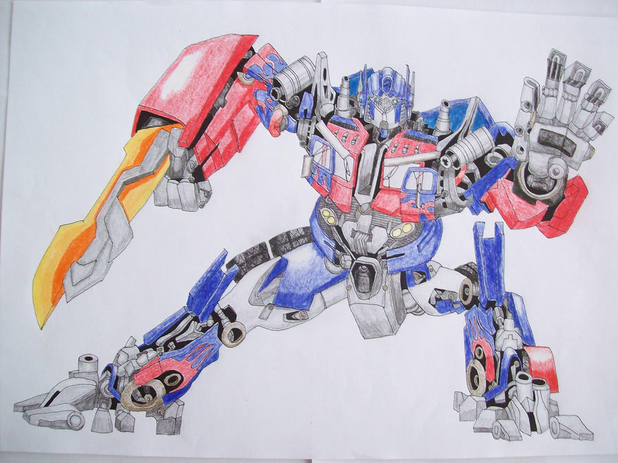 Transformers Optimus Prime Drawings Gallery