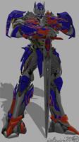 Optimus with Sword