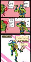 Leo's Breakfast Puns! Comic Strip