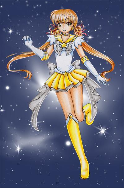 Sailor Star by Dawnie-chan
