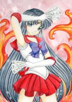 Sailor Mars Crystal by Dawnie-chan