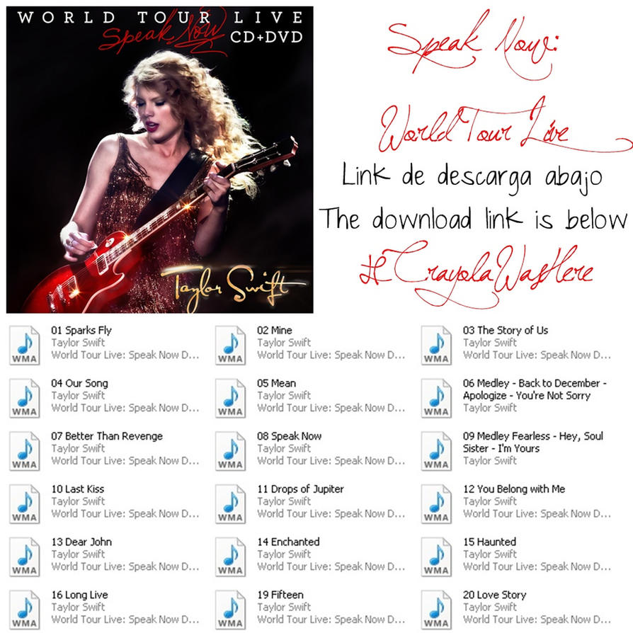 Download video speak now.