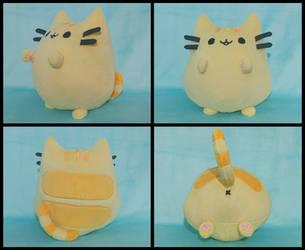 FOR SALE Plusheen the Cat - Orange! by FlurryHeart