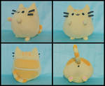 FOR SALE Plusheen the Cat - Orange!