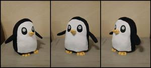 Gunther! Chibi Plush Penguin by FlurryHeart