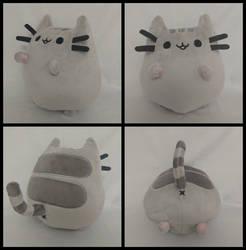 Plusheen the Cat - Grey! by FlurryHeart
