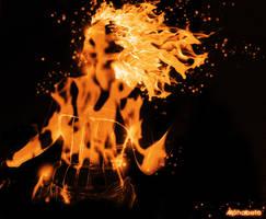 Fiery Red Head by Alphabeta85