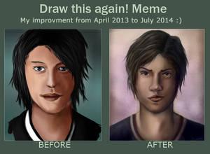 Draw this again meme !