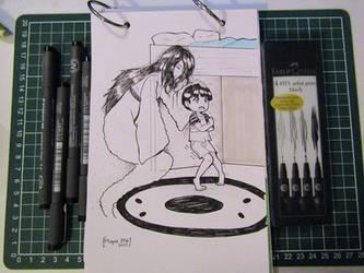 Inktober Day 27 by sefie-ireth