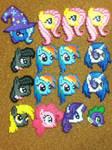-Perler- My Little Pony Heads :D