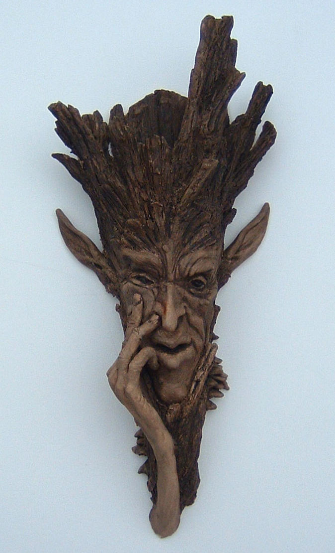 Tree man by thebiscuitboy on deviantart