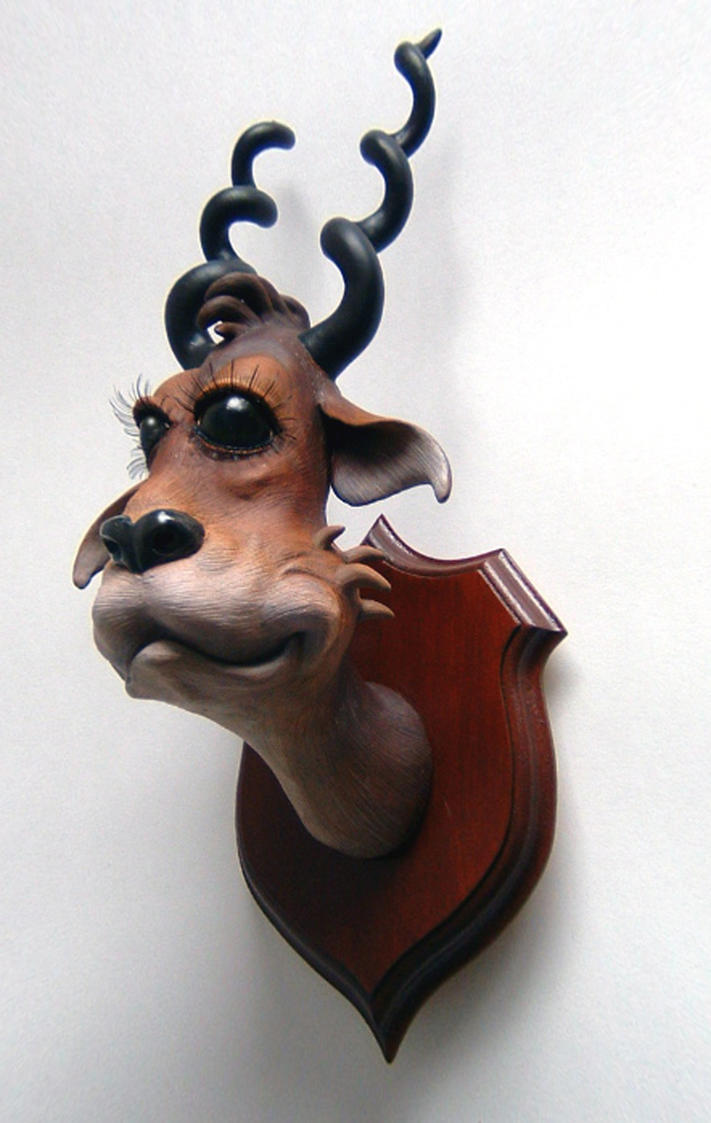 Dr Seuss Taxidermy by thebiscuitboy