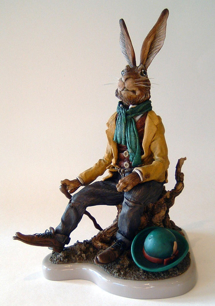 Hobo Hare II by thebiscuitboy