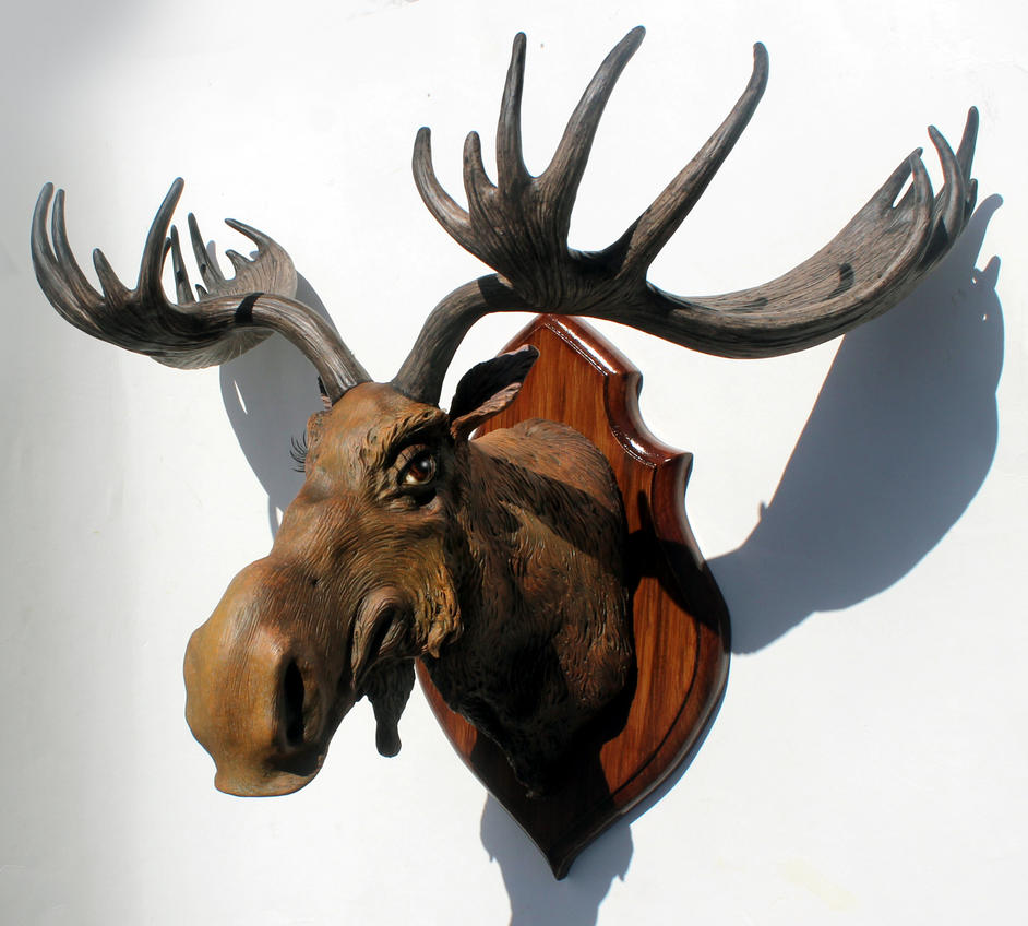 Big Bad Moose by thebiscuitboy