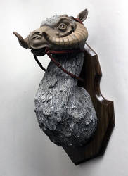 Tauntaun Trophy by thebiscuitboy