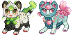 [AT] Mewshi and Paradise Icons by LiticaHarmony