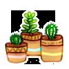 Mini Garden - Three Smol Plants