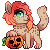 Red Halloween Icon by LiticaHarmony