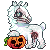 Nanook Halloween Icon by LiticaHarmony