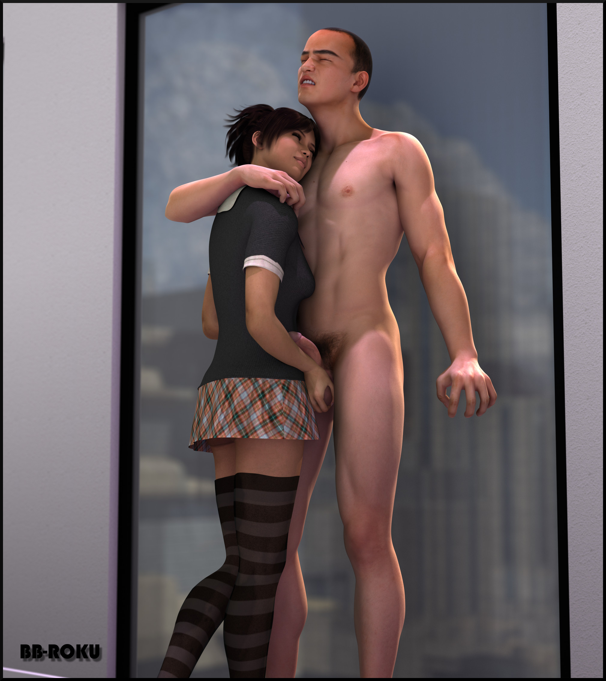 Ballbusting squeezing his balls til he passes out